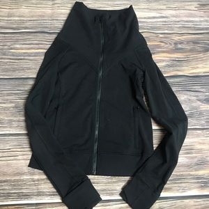 Lululemon Be Present Black Jacket size 6